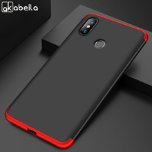 AKABEILA Phone Case For Xiaomi Mi Max 3 Cases Max3 Pro 6.9 inch Covers 360 Degree Protector Cover Plastic Shell (Not Glass )