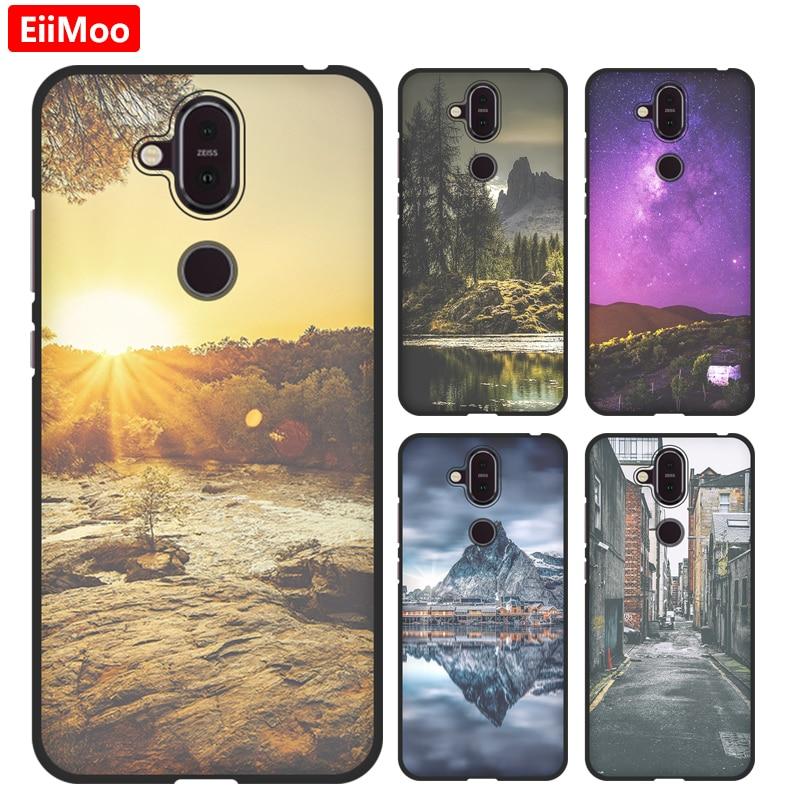EiiMoo Ultra-thin Silicone Case For Nokia 8.1 / 7.1 Plus / X7 Cover For Nokia 8.1 Case For Nokia X7 Cover For Nokia 7.1 Plus