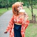 Honoka Kousaka Cosplay Amor En Vivo! lovelive escuela idol proyecto unawakened taisho uwowo kimono traje