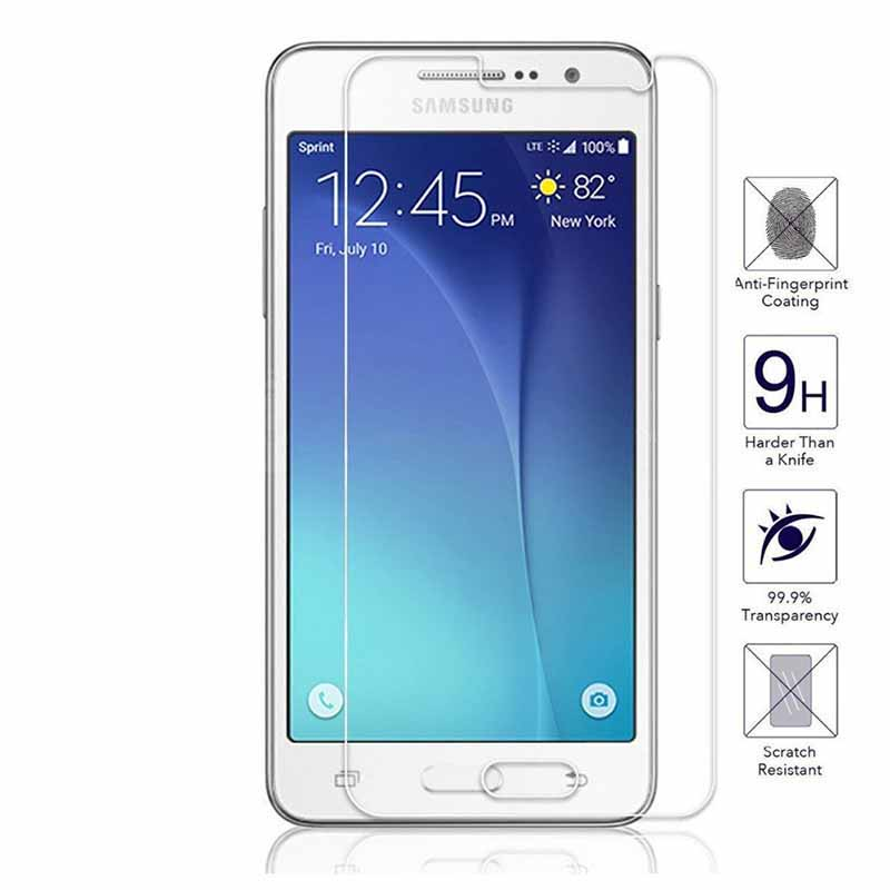EKDME Protective Tempered Glass For Samsung Galaxy A3 A5 2014 A7 2015 S5 Mini S6 S3 S4 Note 2 Screen Protector Toughened Film