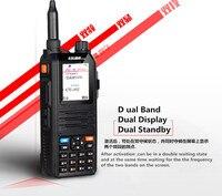 vhf uhf Tri-Band טוקי talkiecomunicador רדיו 5W Henglida CP-UV2000 שני VHF רדיו דרך / UHF 136-174 / 400-520 טוקי MHz הדובר טוקי (1)