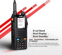 Tri-Band walkie talkiecomunicador radio 5w HENGLIDA CP-UV2000  two way radio VHF/UHF 136-174/400-520 MHz walkie talkie speaker