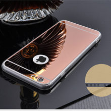 Cases Luxury Mirror TPU Soft Silicone Case For iPhone 5 5s SE 6 6s 7 8 Plus X XS MAX XR S R Shell Cover For iPhone 7 Plus i7 i7P(China)