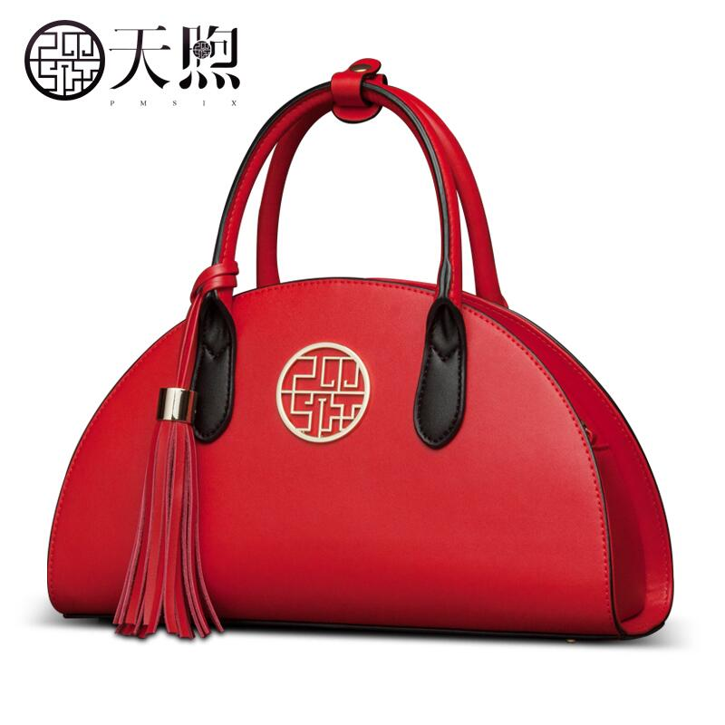 2017 New Women leather bag famous brands fashion quality women handbags shoulder messenger bag Tassel dumplings married bag chispaulo women genuine leather handbags cowhide patent famous brands designer handbags high quality tote bag bolsa tassel c165