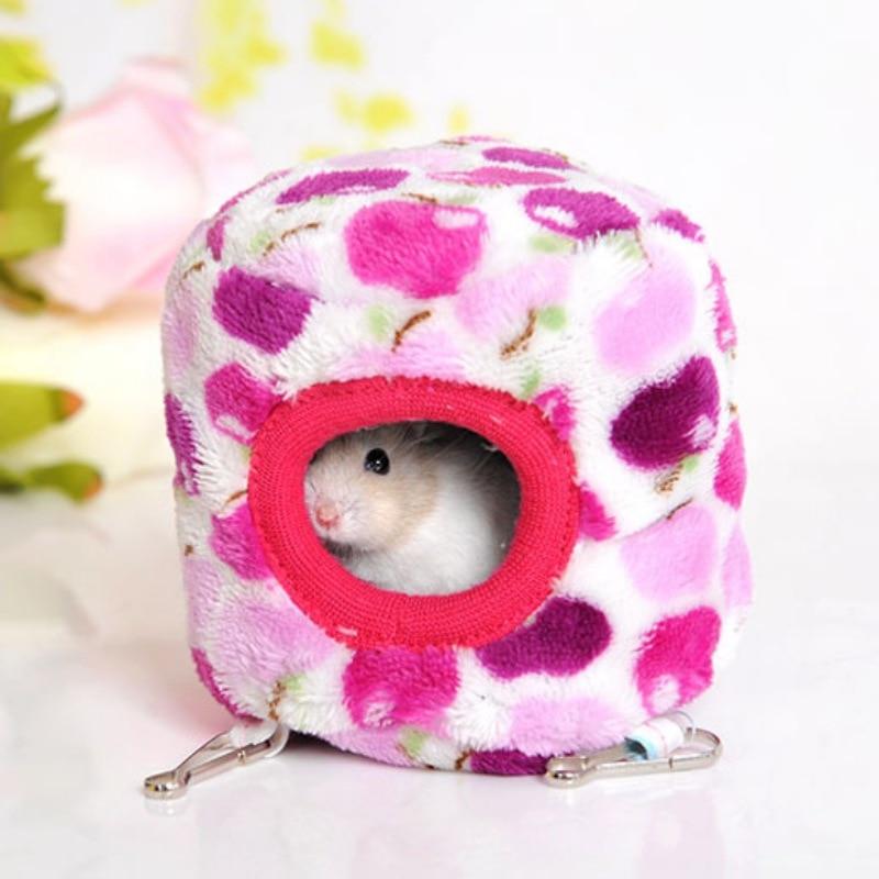 10cmx10cm Cotton Warm Hammock For Hamster Rat Small Pet ...