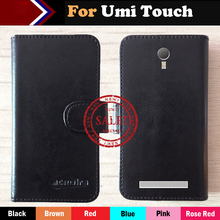 Hot!! Umi Touch Case Factory Price 6 Colors Dedicated Leather Exclusive For Umi Touch Phone Cover+Tracking