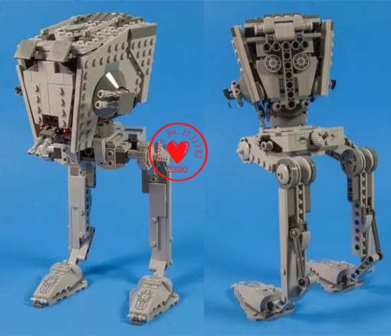 Genuine Model Building Block Star wars Rogue One Imperial AT-ST Walker Brick Toy 75153 compatiable legoes gift kid Star wars set w 29 at at walker style wall sticker