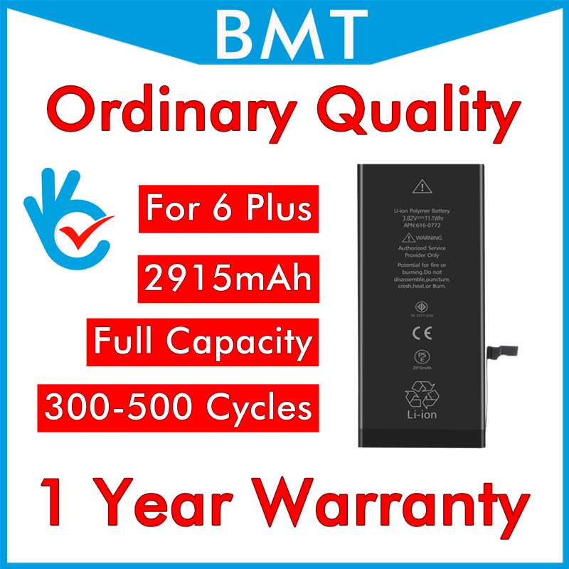 Ordinary Quality-Battery IPhone 6 Replacement 6g-Plus Original For
