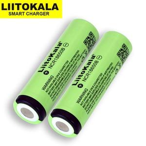 Image 2 - 2019 1 10 PCS Liitokala מקורי 18650 3400 mAh ליתיום יון סוללה NCR18650B 3.7 V 3400 סוללה