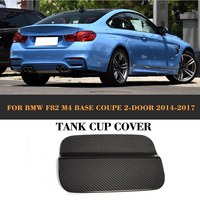 Carbon fiber Car Exterior Oil Gas Fuel Tank Cap Cover Trim Decoration for BMW F82 F83 M4 2 Door 2014 - 2017 Convertible