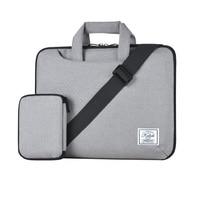 KALIDI 10 11 12 13 14 15 Inch Laptop Shoulder Bag Handbag Protective Case Pouch Cover