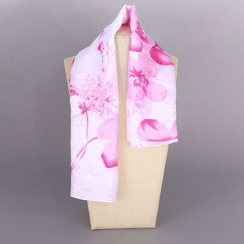 Spring Floral Bandana Scarf | Lightweight Scarves | Up to 60% Off Now
