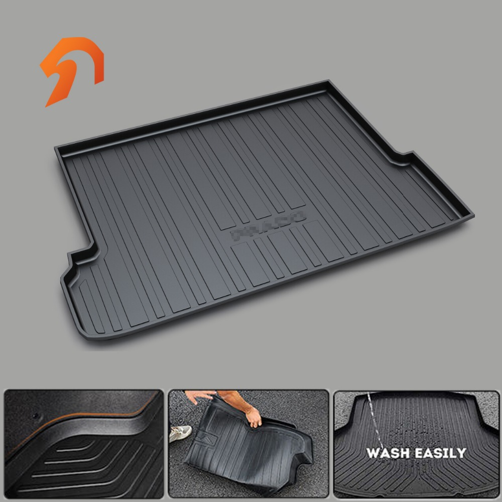 FIT FOR TOYOTA CAMRY HIGHLANDER CROWN REIZ COROLLA VIOS LEVIN RAV4 PRADO BOOT LINER REAR TRUNK CARGO MAT FLOOR TRAY CARPET yuzhe leather car seat cover for toyota rav4 prado highlander corolla camry prius reiz crown yaris car accessories styling