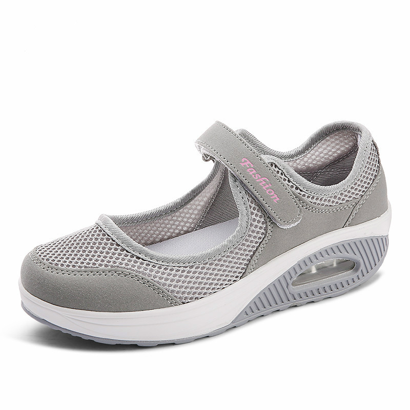 WDHKUN Women Shoes Sneakers Casual Sport Flats Fashion Shoes Walking Spring Summer Loafers Breathable Air Mesh Walking Shoes