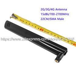 Hohe Verstärkung 15dBi 2G 3G 4G LTE Antenne Router Antenne Folding Antenne für wireless Network Sma-stecker 22 CM