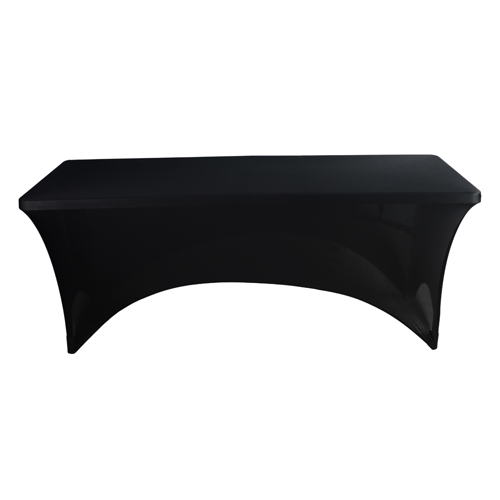 Rectangular Table Cover Spandex Fabric Tablecloth Stretch Bar Bistro For  Wedding Party Decorations 183*76