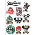 2015 Time-limited Hot Sale The Whole Body Cartoon Glue Sticker The Most Popular Car Sticker A4 28*21cm