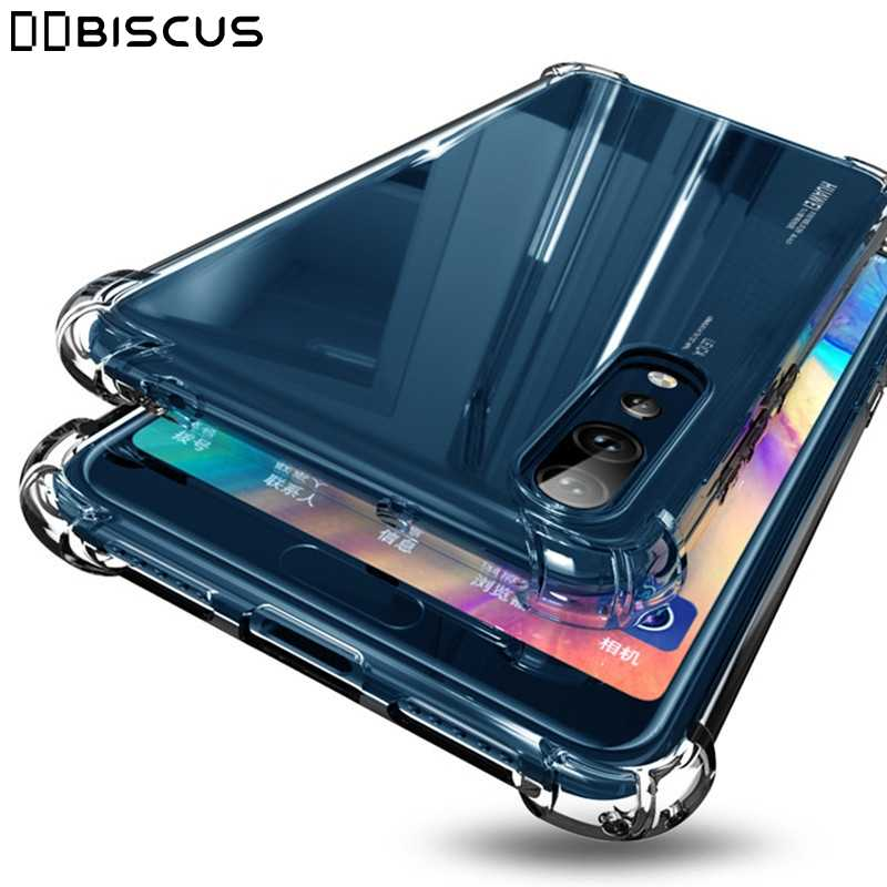 For Huawei Mate 20 Honor 10 8X 8A 7A 7C Pro Nova 2i 3 3i Y5 Prime Y6 Y7 2019 Y9 2018 P10 Lite P20 Case Shockproof Silicone Cover