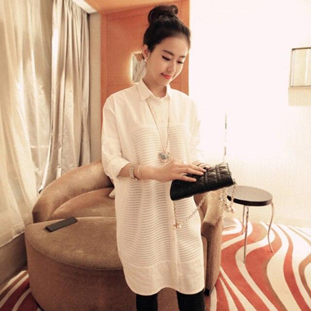 2016 maternidad primavera / verano camisas tallas grandes camisas camisas embarazadas ropa de maternidad del verano blusa 16391