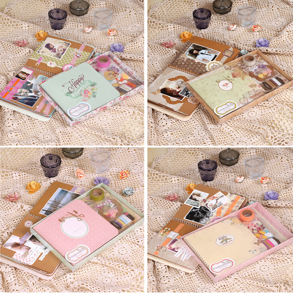 Photo scrap book