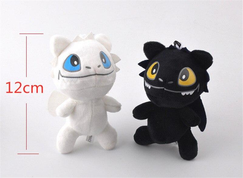 2019 Anime Movie How To Train Your Dragon 3 Light Fury Night Fury Toothless Dragon Plush Doll Toys Children Kids Birthday Gift (5)