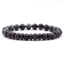 KANGKANG classic 8mm Natural stone beads bracelet 6 style for Men&Women charming Jewelry