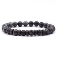 KANGKANG classic 8mm Natural stone beads bracelet 6 style for Men&Women charming Jewelry цены