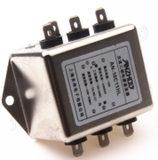 Three Phase Power filter 40A 380V/440V AN-40C12GB Bolt Type Filter Inductor Connector