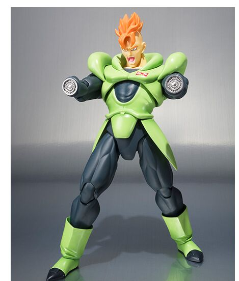 Android 16 Dragon ball Z action figure toy 1/12-in Action & Toy Figures from Toys & Hobbies    2