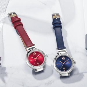 Image 5 - 새로운 naviforce 여성 패션 쿼츠 시계 여성 캐주얼 방수 시계 손목 시계 럭셔리 브랜드 숙녀 시계 reloj mujer 2019