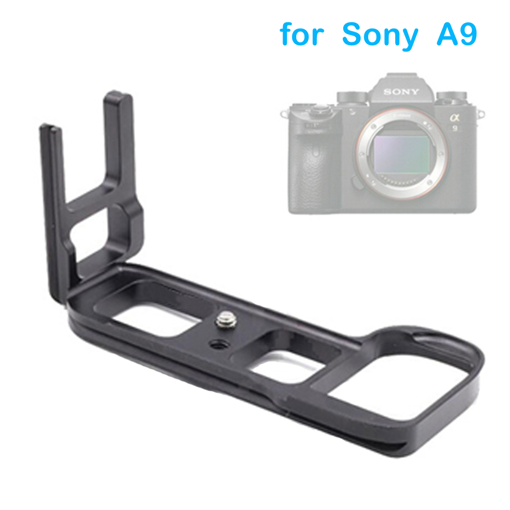 Professional LB-A9 L Type Quick Release Plate A9 Camera Tripod Monopods Tripods Ball Head Mounting BracketMonopod for Sony A9