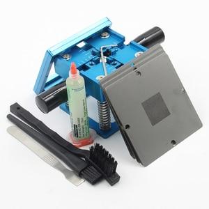 Image 5 - BGA fixtures 90x90 Reballing Station Reballing Bga Sik tin template solder paste soldering flux for Laptop Gameconsole