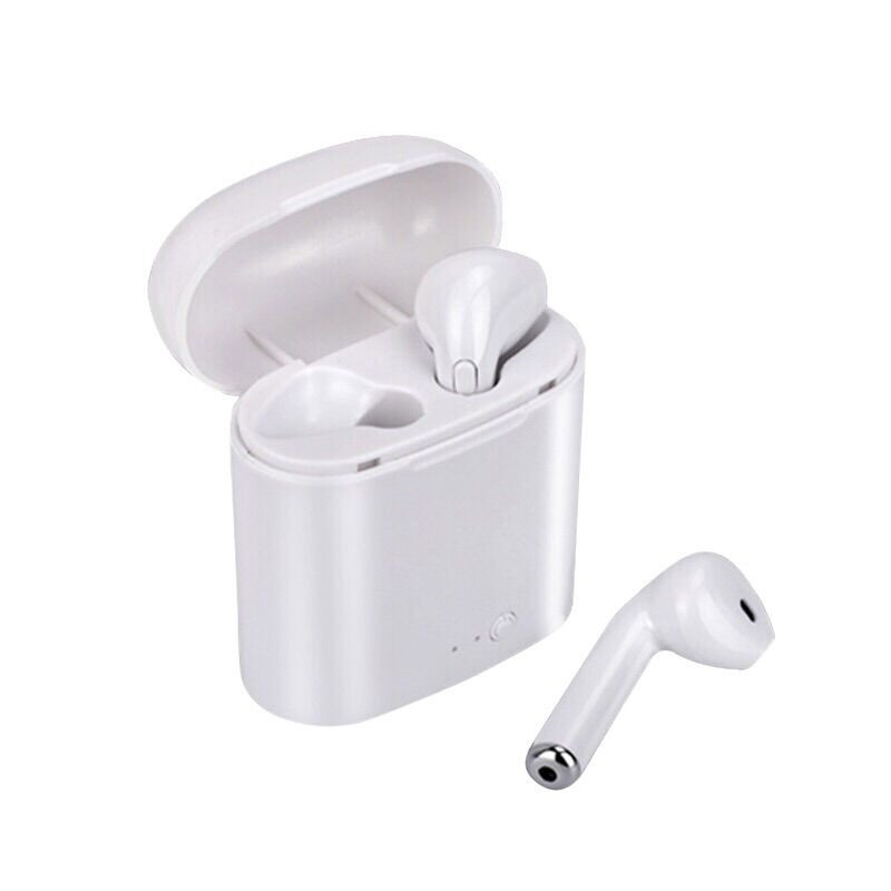 XINGDOZ 1 par i7 tws Mini auricular Bluetooth inalámbrico auriculares con caja de carga estéreo de deporte con mic para iphone X para Android