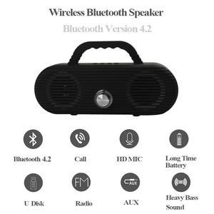 Image 1 - CM86 Portable Bluetooth Speaker Outdoor wireless column Waterproof Computer Speaker Soundbox With TF Card And USB FM radio