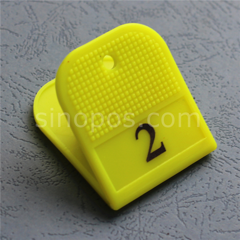Plastic Numbered Clips For Shoes, ID number tag identification clip locker sauna spring bath gym spa fitness luggage checkroom number