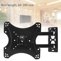 Universal TV Wall Mount Mounts Bracket TV Frame Support 15 Degrees Tilt with Gradienter for 14 42 Inch LED Monitor Flat Pan