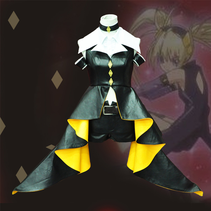 Shugo Chara Tsukiyomi Utau Dark Jewel Uniform Cosplay Costume Lovely Stage Performance Outfit For Women Free Shipping Customers First Home Industrious Anime