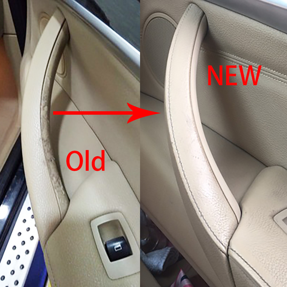 NEW Car Styling Right Left Inner Door Panel Handle Pull Trim Cover Auto Interior Accessories For BMW E70 X5 E71 E72 X6 SAV-in Interior Door Handles from Automobiles & Motorcycles
