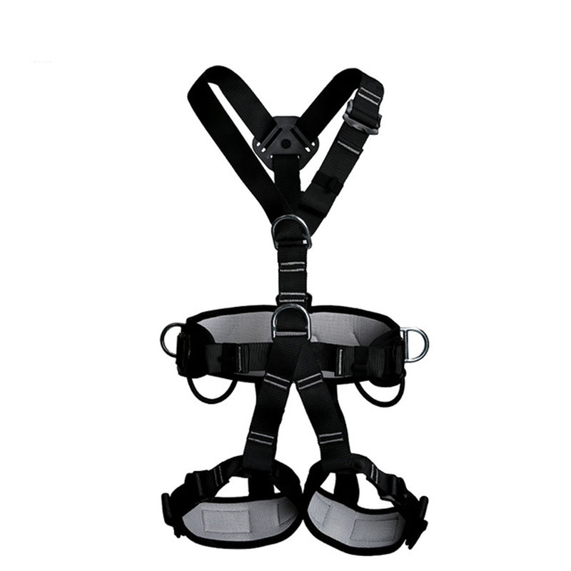 High Quality Professional Rock Climbing Belt High Altitude Full Body Safety  Belt Harnesses Anti Fall Protective Gear