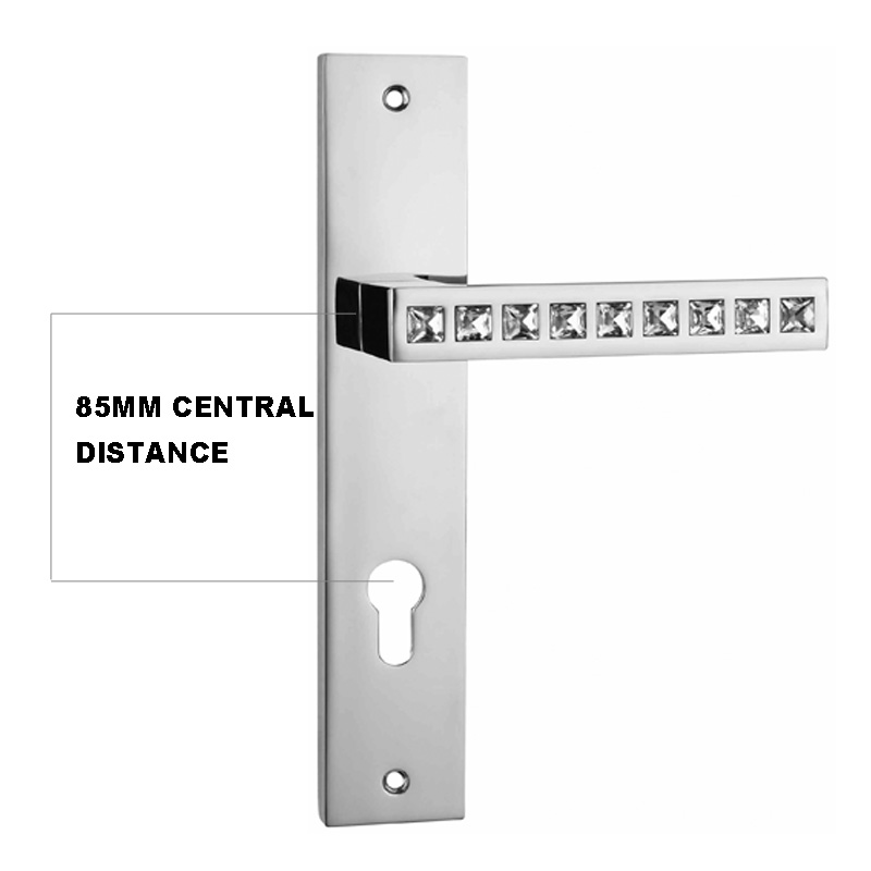 H678 300 85mm CENTRAL DISTANCE ZINC ALLOY MATERIAL LONG PLATE ...