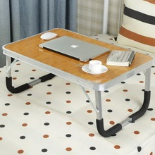 250317/lift folding table/Paint steel pipe/Multi – functional design /Removable bed computer desk/Lazy simple desk /