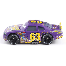 Cars Disney Pixar Cars No.63 Transberry Juice Metal Diecast Toy Car 1:55 Loose Brand New Disney Cars2 And Cars3 Free Shipping