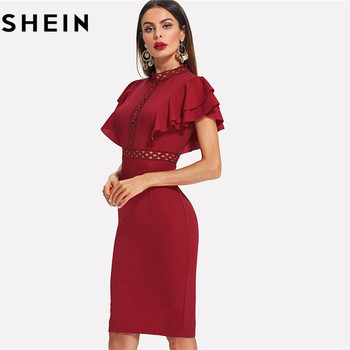 3bab20f81b The product is already in the wishlist! Browse Wishlist · SHEIN High Waist  Retro Lace Dress