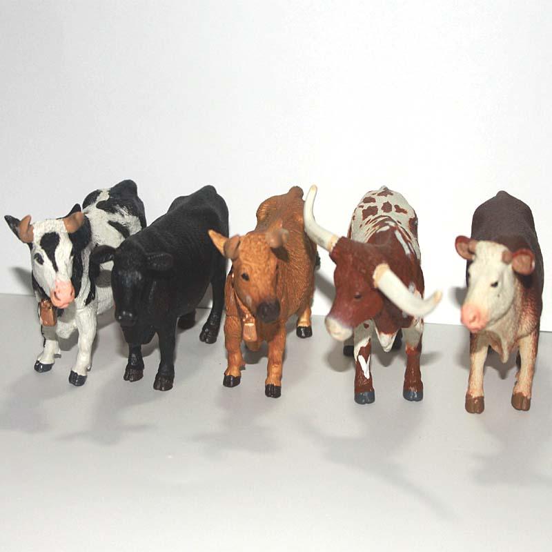 Small Toy Cows : Compra vaca de plástico online al por mayor china