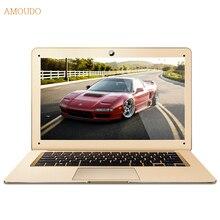 Amoudo-6c плюс 8 ГБ ram + 500 ГБ hdd intel core i5-4200u/4210u/4250u cpu windows 7/10 система ультратонкий ноутбук ноутбук