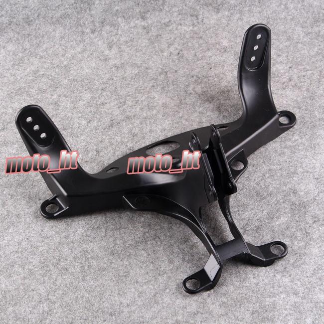 ФОТО Black Fairing Stay Bracket Cowling Headlight For Yamaha YZF R1 2007 2008 Upper 07 08 New