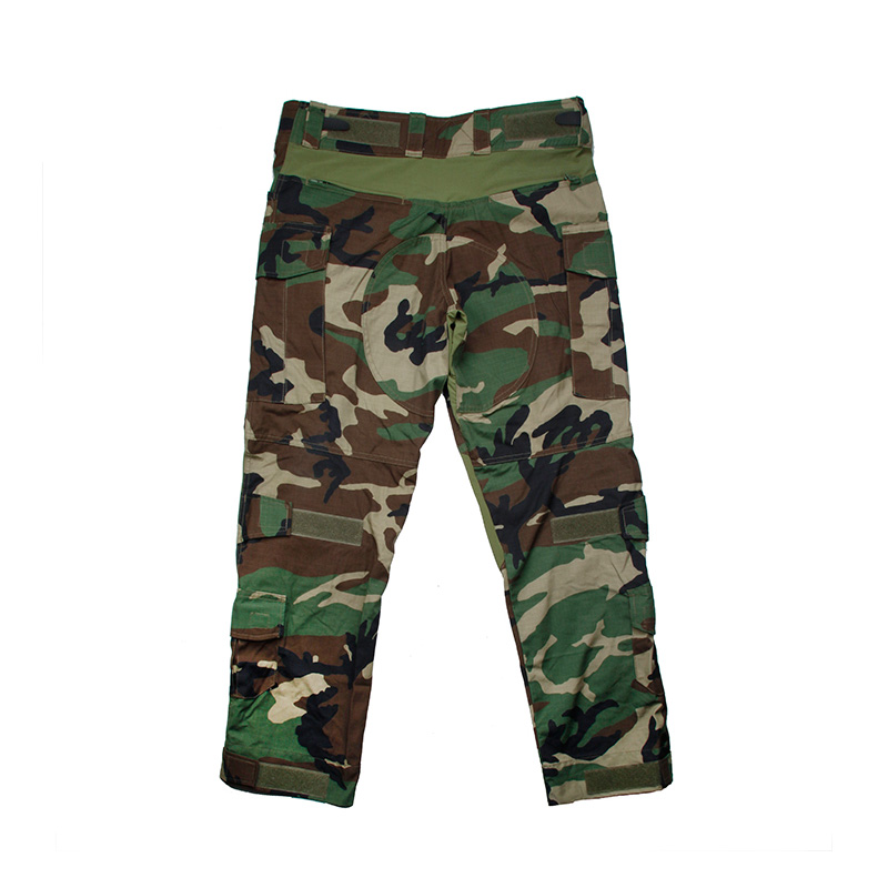 2018 Version NEW TMC2901-WL G3 Tactical Pants/ Military Frog Suit Long Pant With Knee Protection Woodland Multicam Pants