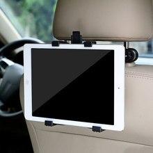 Phone Stand Holder Car Mount Holder Back Seat Headrest For iPad 2 3/4 Air 6 mini 360 adjus