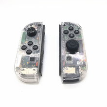 цена на Transparent Housing Case for Nintend Switch NS Controller Joy-Con Protection Shell Skin Cover Switch Joy-Con Game Console Cases