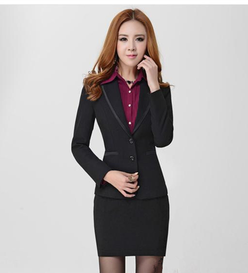 Aliexpress.com : Buy ladies business attire women's black suit ...